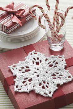 FREE Crochet Snowflake Pattern from @joannstores