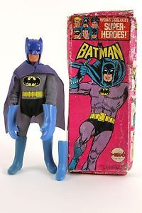 Batman Mego 1972. I owned this, now it's worth $7000. Gah!