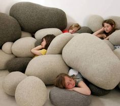 I've used these rock pillows on the show as well as with privates, huge hit!
