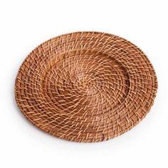 Koyal Honey Brown Rattan Charger Plate, 4-Pack Koyal Whol... https://smile.amazon.com/dp/B012BTLWEK/ref=cm_sw_r_pi_dp_x_Jelfyb9H7WYNV
