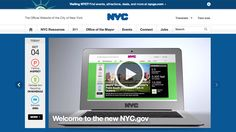 The redesign of NYC.gov, which focuses on responsive design, is the city's first major overhaul since 2003.