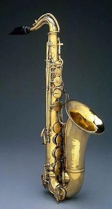 Adolphe Sax. Alto saxophone, started it   all. Circa 1844-46