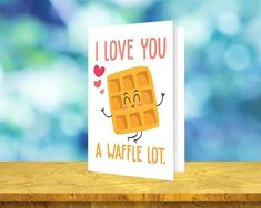 I Love You S/'more Funny Folded Greeting Card 5x7 Digital Instant Download Card Printable Downloadable Love Card