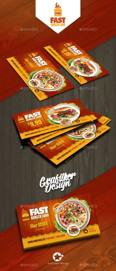 Restaurant #Business Card Templates - Corporate Business Cards