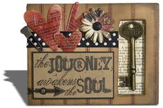 Papercrafting inspiration from the Tim Holtz Gallery!  http://www.timholtz.com/gallery.html
