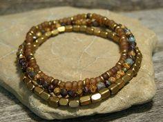 Mens Bracelet   Beaded Bracelet  Man Jewelry  by StoneWearDesigns #men'sjewelry