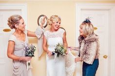 Adorable mother, grandmother and bride! Courtesy of Solas Weddings