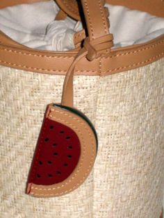 For Sale on EBay currently: Prices REDUCED on ALL items!! Only until the end of the year!! Etienne Aigner Vintage Watermelon Small Round Drawstring Top Handbag