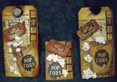 tim holtz popcorn stamp - Google Search
