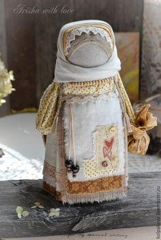 Купить кукла-оберег Ангел солнечного апреля. - бежевый, карамель, крем-брюле, народная кукла