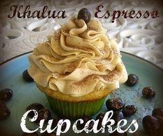 Kahlua Vanilla Bean Cupcakes With Espresso Cream Cheese Frosting