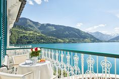 Balkon im Superior Doppelzimmer Rooms, Double Room, Balcony, Vacation, Homes, Bedrooms
