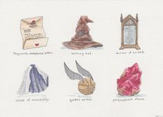 Harry Potter and the Philosopher's Stone objects