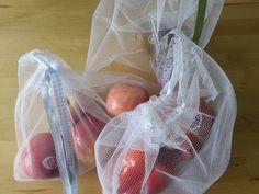 Tüllbeutel mit Obst