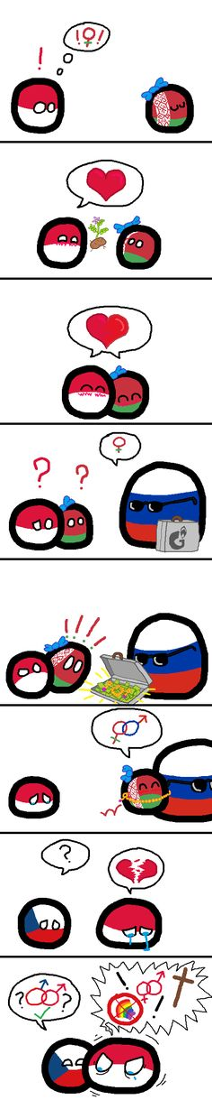 Leftovers ( Poland, Belarus, Russia, Czech ) by jPaolo Funny Flags, Funny Cute, Hilarious, Funny Cartoon Memes, History Memes, Cool Animations, Country Art, Fun Comics, Funny Moments