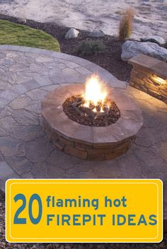 DIY::20 Firepit  Projects !