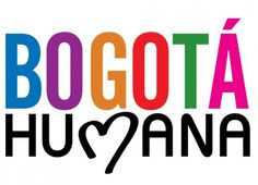 It is the logo of the present Mayor campaign of Bogotá. Here it is the website: http://www.bogotahumana.gov.co/index.php/component/content/article/11-plan-de-desarrollo/410-lan-de-desarrollo-bogota-humana-2012-2016