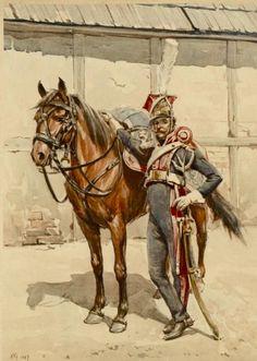 Cavalleggero dei lancieri polacchi - Bronislaw Gembarzewski