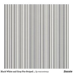 Black White and Gray Pin-Striped Fabric