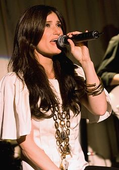 Idina Menzel. :) She's the reason why I love Musical Theatre.