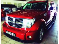 2007 Dodge Nitro 2.8 SXT 4x4 CRD, A/T - R 179 900  An all round rough terrain, multi purpose SUV with every add on you can you can imagine. A sidestep 5 Seater with easy load through system. Travel in style with plush leather seating (front has heat control), cruise control, 2WD and 4WD lock and electric windows, mirrors, drivers seat, you wont want to drive any other car after you have taken this ruby red baby for a drive.  (Aftersales contact: Karen Gouws: 082 7514596)
