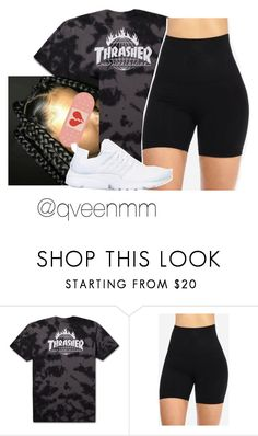 """Untitled #487"" by qveenmm ❤ liked on Polyvore featuring NIKE"