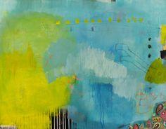 "Saatchi Art Artist Christiane Lohrig; Painting, ""Kopfsprung"" #art"