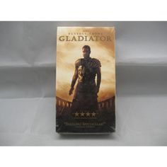 Gladiator Russel Crowe Brand New VHS Tape