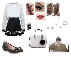 """TaeTae"" by taehyah on Polyvore featuring Kate Spade, Casetify, GUESS, Fiebiger, Nadri e River Island"