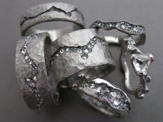 950 palladium, diamonds
