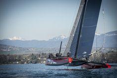 Team Tilt on Lake Geneva