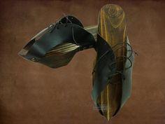 Zueco medieval : Complementos medievales : Entretelas Vestuario : Confección de trajes a medida, de época, vestimenta histórica, trajes medievales, romanos, griegos, siglos y renacimiento, etc