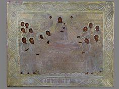 «Успение Пресвятой Богородицы», дерево, темпера, оклад латунь, 18х22,5см