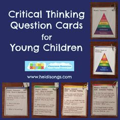 These printable cards are $2 on HeidiSongs TPT store.  http://www.teacherspayteachers.com/Product/Critical-Thnking-Question-Cards-for-Young-Children-1300321