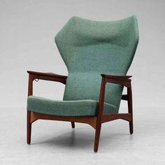 Ib Kofod-Larsen, armchair, teak, Year 1950s Manufacturer Carlo Gahrk