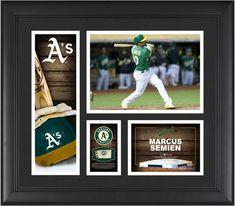 2210d2727c4 Marcus Semian Oakland Athletics Framed 15