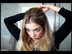 Dois penteados, uma trança ! Rápido e fácil - YouTube