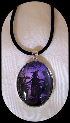 Halloween Pendant Salem Witch Trials.halloween pendants  #halloween #pendants #jewelry www.loveitsomuch.com