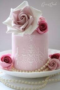 gorgeous mini cake