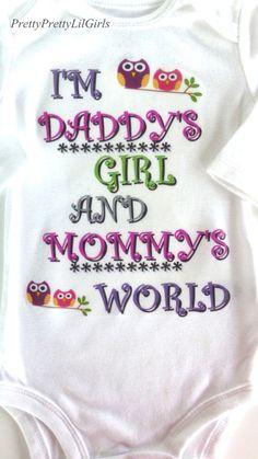 Baby Girl Cute Baby Girl Girls Outfit by PrettyPrettyLilGirls, $13.99