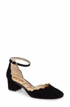 Sam Edelman Lara Ankle Strap Pump (Women)