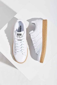 "UrbanOutfitters ""adidas Originals Stan Smith Gum-Sole Sneaker,WHITE,W 5.5/M 4.5"" Found on my new favorite app Dote Shopping #DoteApp #Shopping"