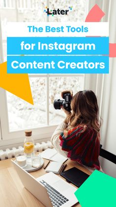 If you're looking to add new content creator tools to your kit list, you've come to the right place!  Even with a busy schedule, you can still create gorgeous, consistent content while saving time and money — and the right tools can make it super easy.  Ready to take your content skills to the next level? Here are 16 budget-friendly tools for Instagram content creators. #content101 #socialmedia #budget