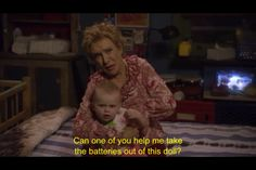 raising hope - never seen this show but this is funny Movies Showing, Movies And Tv Shows, Raising Hope, Best Movie Lines, Are You Not Entertained, Funny As Hell, About Time Movie, I Love To Laugh, Favorite Tv Shows