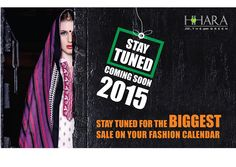 Stay tuned for the biggest SALE on your fashion calendar. #ComingSoon http://www.harra.in