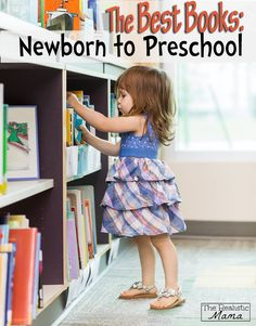 These books are must reads! Great booklist from Newborn to Preschool. Great resource for your next library visit or for starting out your first at home library collection.