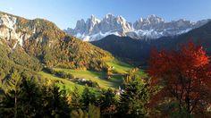 St Magdalena Village Val Di Funes South Tirol Italy Favorite