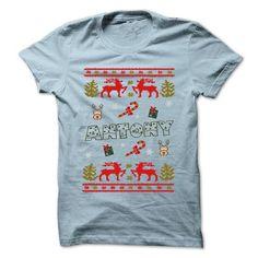 I Love Christmas ANTONY ... 999 Cool Name Shirt ! T shirts