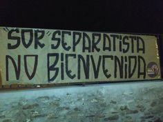 Els mitjans locals parlen de la polèmica designació de la monja separatista i radical Sor Lucía Caram ha fet aflorar pels carrers del poble Alba de Tormes amb grans pancartes en contra de la religiosa. Com es pot veure a la foto, els cartells elaborats 'artesanalment' s'hi pot llegir 'Sor separatista no bienvenida'. Les pancartes han estat col·locades en tres dels punts de més trànsit d'Alba de Tormes per a un major impacte visual i repercussió a la zona.