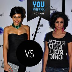 These two beauties are nothing short of perfection.   #MandiraBedi or #GulPanag. Who carries a short-do better?